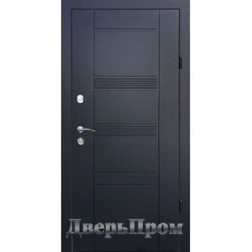 Двери Медиум 01 Графит шагрень Дверьпром