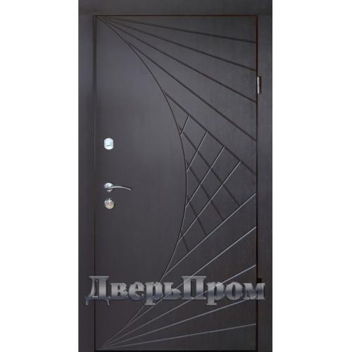 Двери Оптима 04 Венге темный Дверьпром