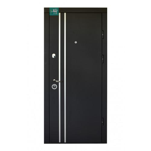Двери ПК-189 М/183 Элит Софт черный/Белый мат Министерство дверей