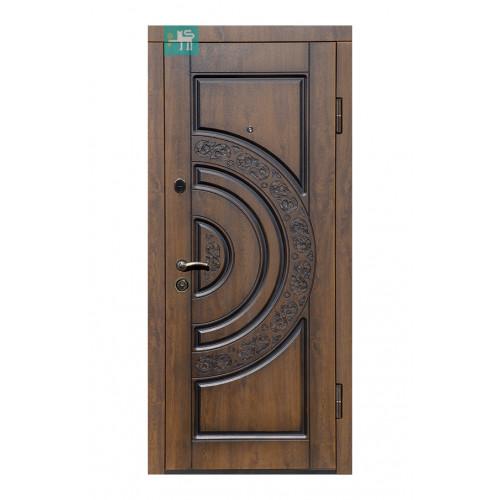 Двери ПВ-82 Дуб темный Vinorit (Патина) Министерство дверей