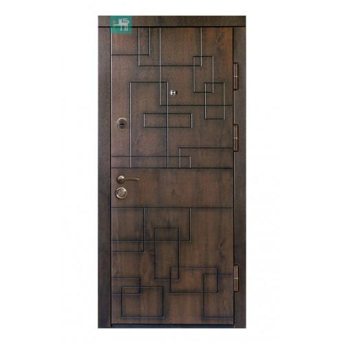 Двери ПВ-157 Дуб темный Vinorit (Патина) Министерство дверей