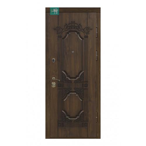 Двери ПВ-101 Дуб темный Vinorit (Патина) Министерство дверей