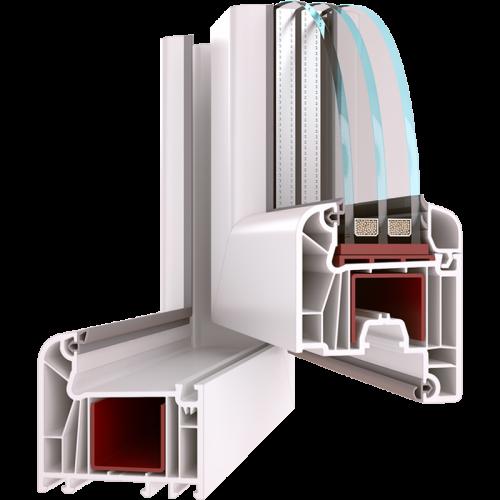 Металлопластиковый профиль WDS 7 SERIES
