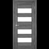 Двери PORTO - 07 стекло сатин KORFAD