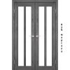 Двери TORINO - 05 сатин стекло KORFAD