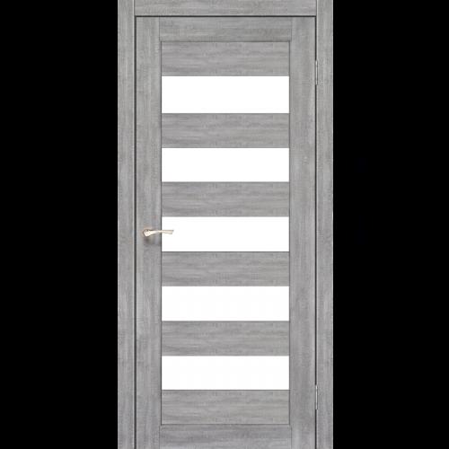 Двери PORTO - 08 стекло сатин KORFAD