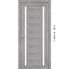 Двери ORISTANO - 04 стекло черное KORFAD