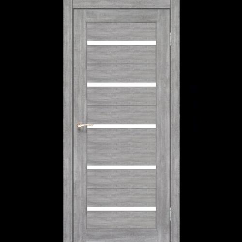 Двери PORTO - 02 стекло сатин KORFAD