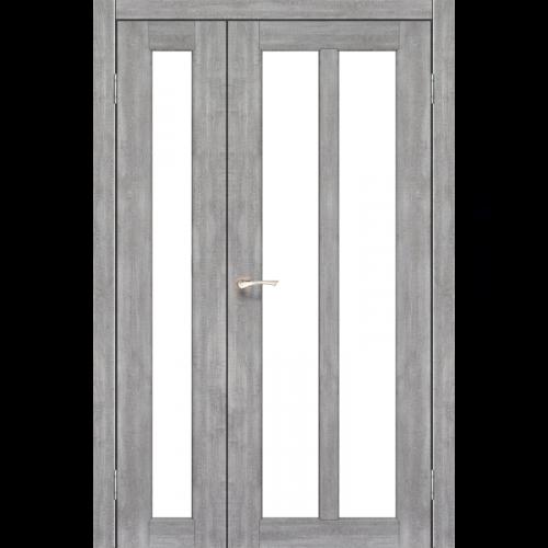 Двери TORINO - 04 сатин стекло KORFAD