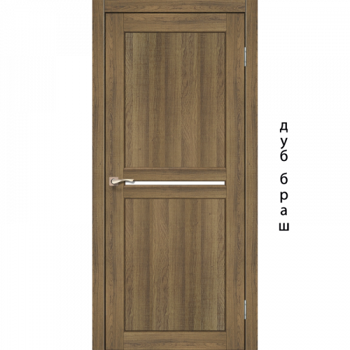 Двери MILANO - 02 стекло сатин KORFAD