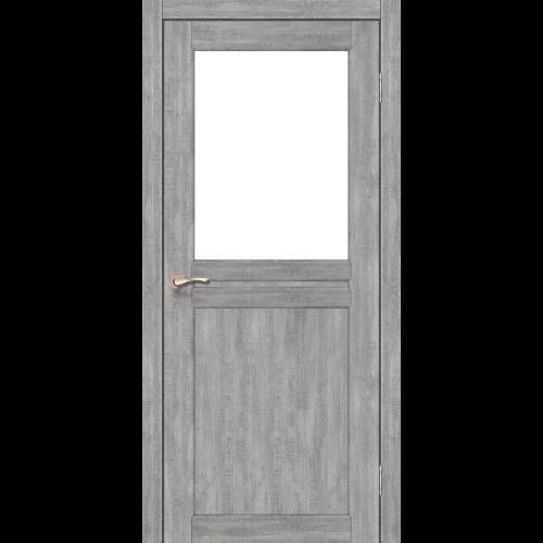 Двери MILANO - 03 стекло сатин KORFAD