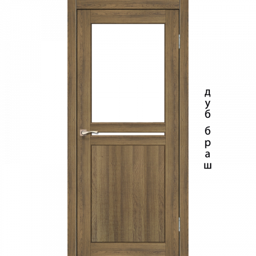 Двери MILANO - 04 стекло сатин KORFAD