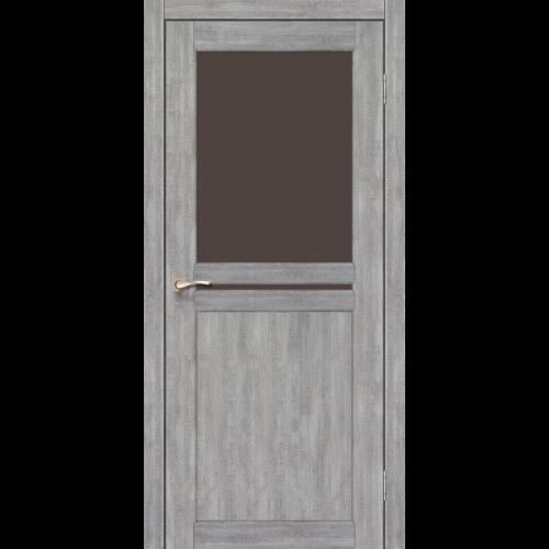 Двери MILANO - 04 стекло бронза KORFAD