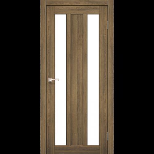Двери NAPOLI - 01 сатин стекло KORFAD