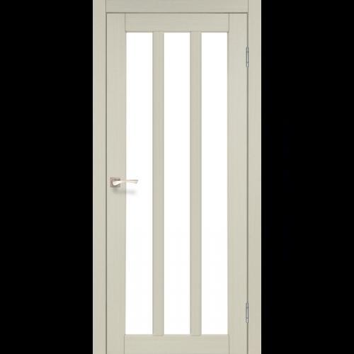 Двери NAPOLI - 02 сатин стекло KORFAD