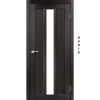 Двери NAPOLI - 03 сатин стекло KORFAD