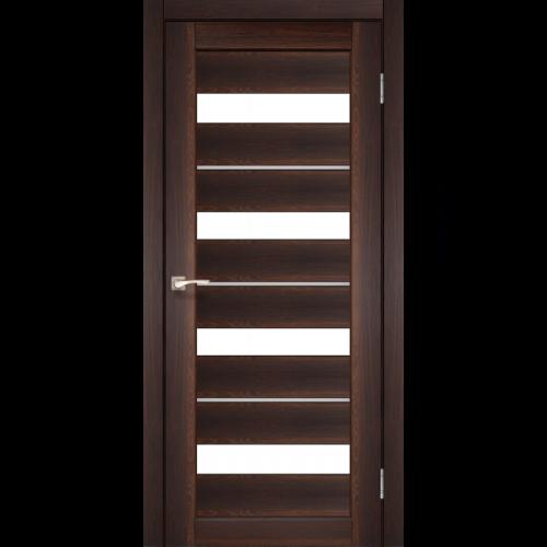 Двери PORTO DELUXE - 02 алюминиевые вставки KORFAD