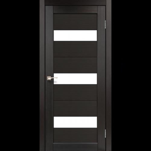 Двери PORTO - 11 стекло сатин KORFAD