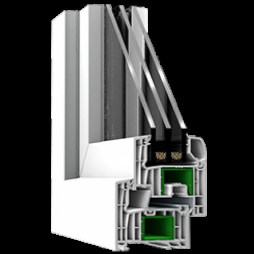 Металлопластиковый профиль Steko R 700