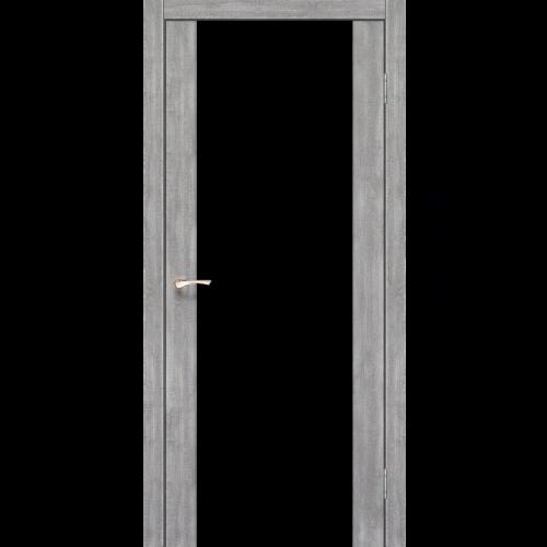 Двери SANREMO - 01 черное стекло KORFAD