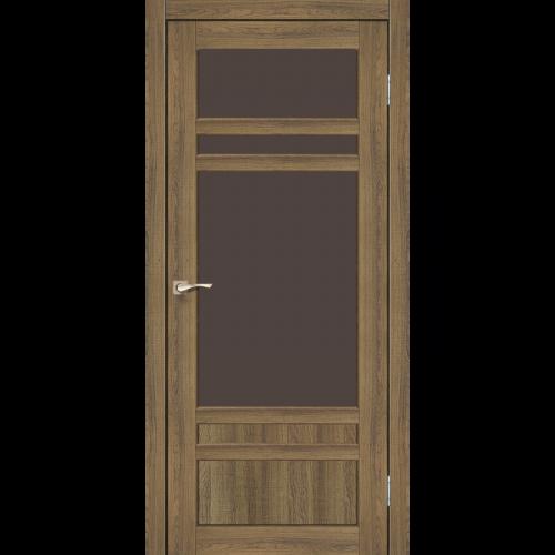 Двери TIVOLI - 04 стекло бронза KORFAD