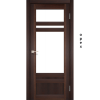 Двери TIVOLI - 04 стекло сатин KORFAD