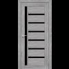 Двери VALENTINO DELUXE - 01 черное стекло KORFAD