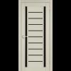 Двери VALENTINO DELUXE - 03 черное стекло KORFAD