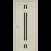 Двери VALENTINO DELUXE - 05 черное стекло KORFAD