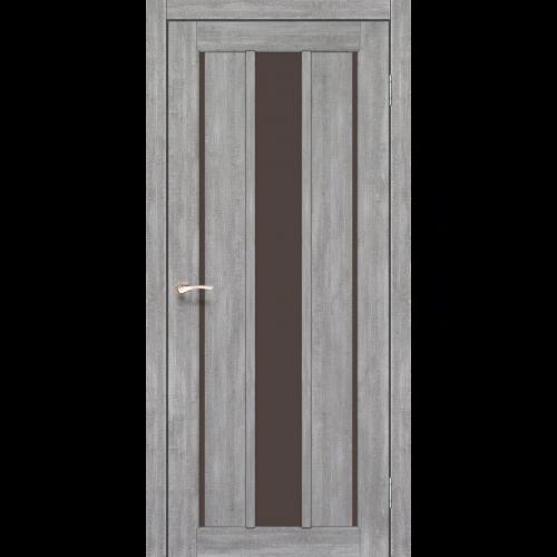 Двери VENECIA DELUXE - 04 стекло бронза KORFAD