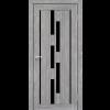 Двери VENECIA DELUXE - 05 черное стекло KORFAD