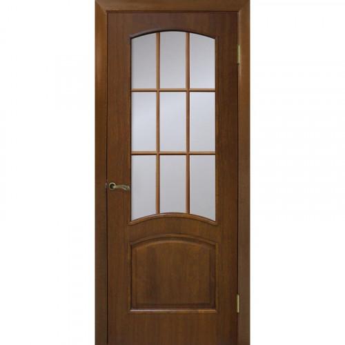 Двери Капри орех без стекла Омис