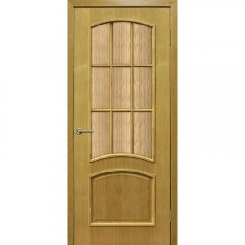 Двери Капри ДНТ стекло бронза Омис