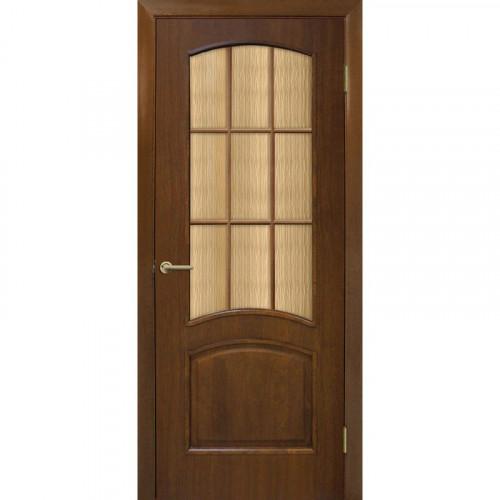 Двери Капри орех стекло бронза Омис