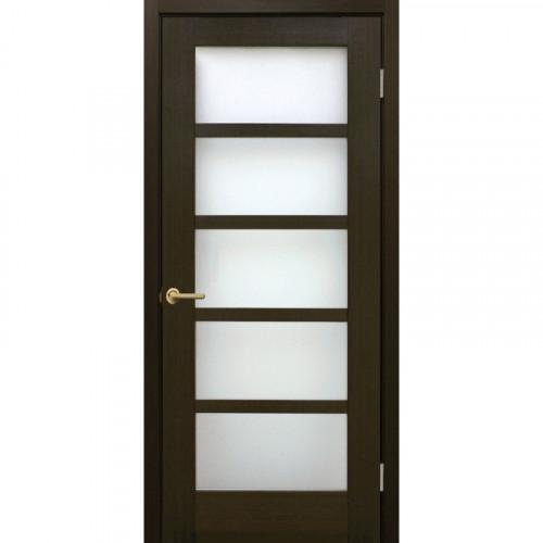 Двери Вена FL венге стекло сатин Омис