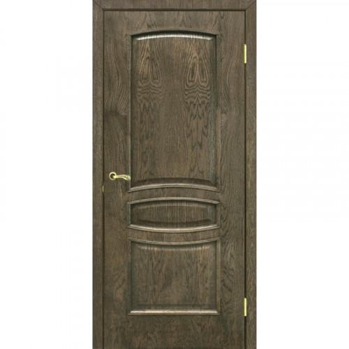 Двери Венеция дуб шервуд глухие Омис