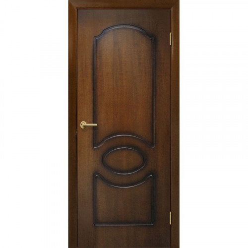 Двери Виктория лесной орех глухие Омис